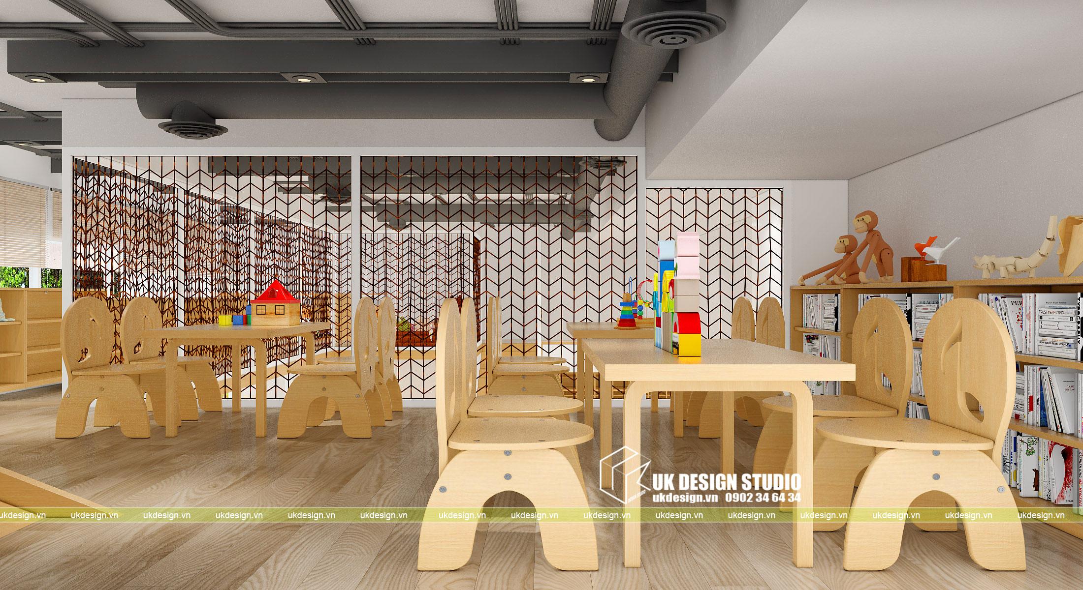 Thiết kế nội thất nhà trẻ 7