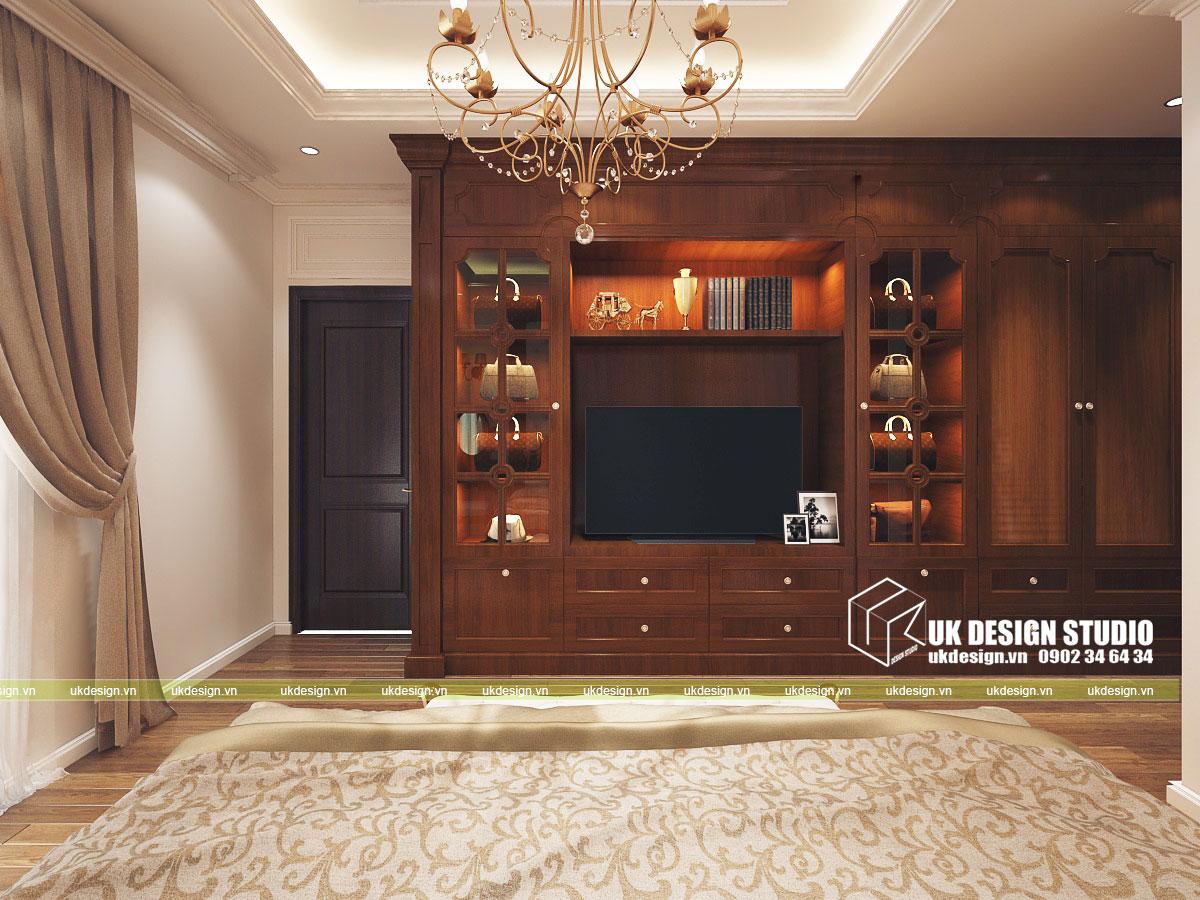 Thiết kế nội thất biệt thự cổ điển 10