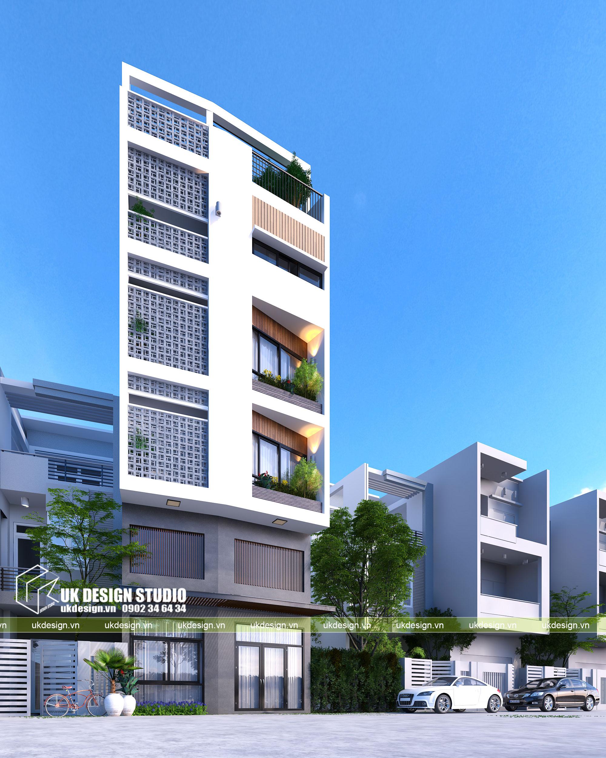 Thiết kế nhà phố diện tích nhỏ hiện đại