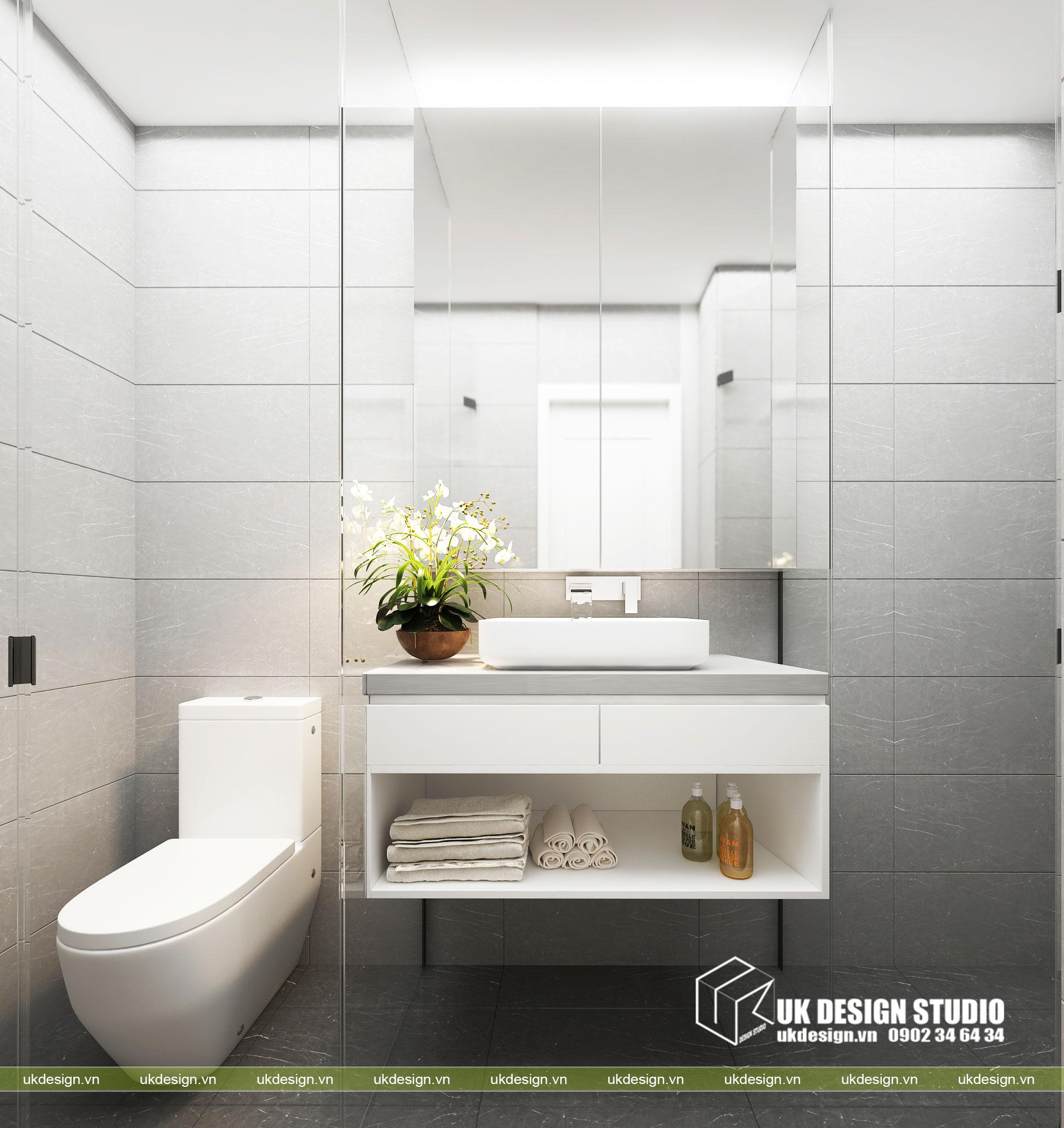 Thiết kế nội thất căn hộ 2 phòng ngủ 9