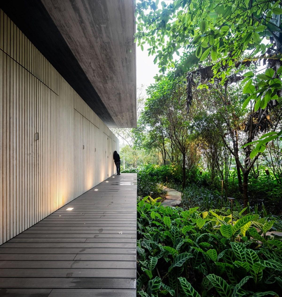 Nhà đẹp nước ngoài - jungle house 13