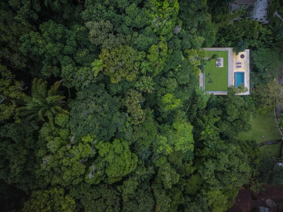"""Jungle House – Biệt thự giống như đang """"lao ra"""" khỏi sườn núi"""