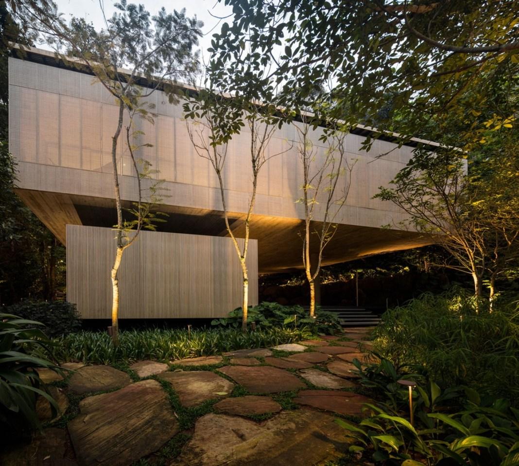 Nhà đẹp nước ngoài - jungle house 9