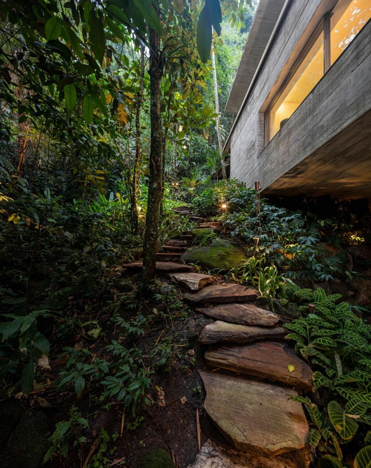 Nhà đẹp nước ngoài - jungle house 10