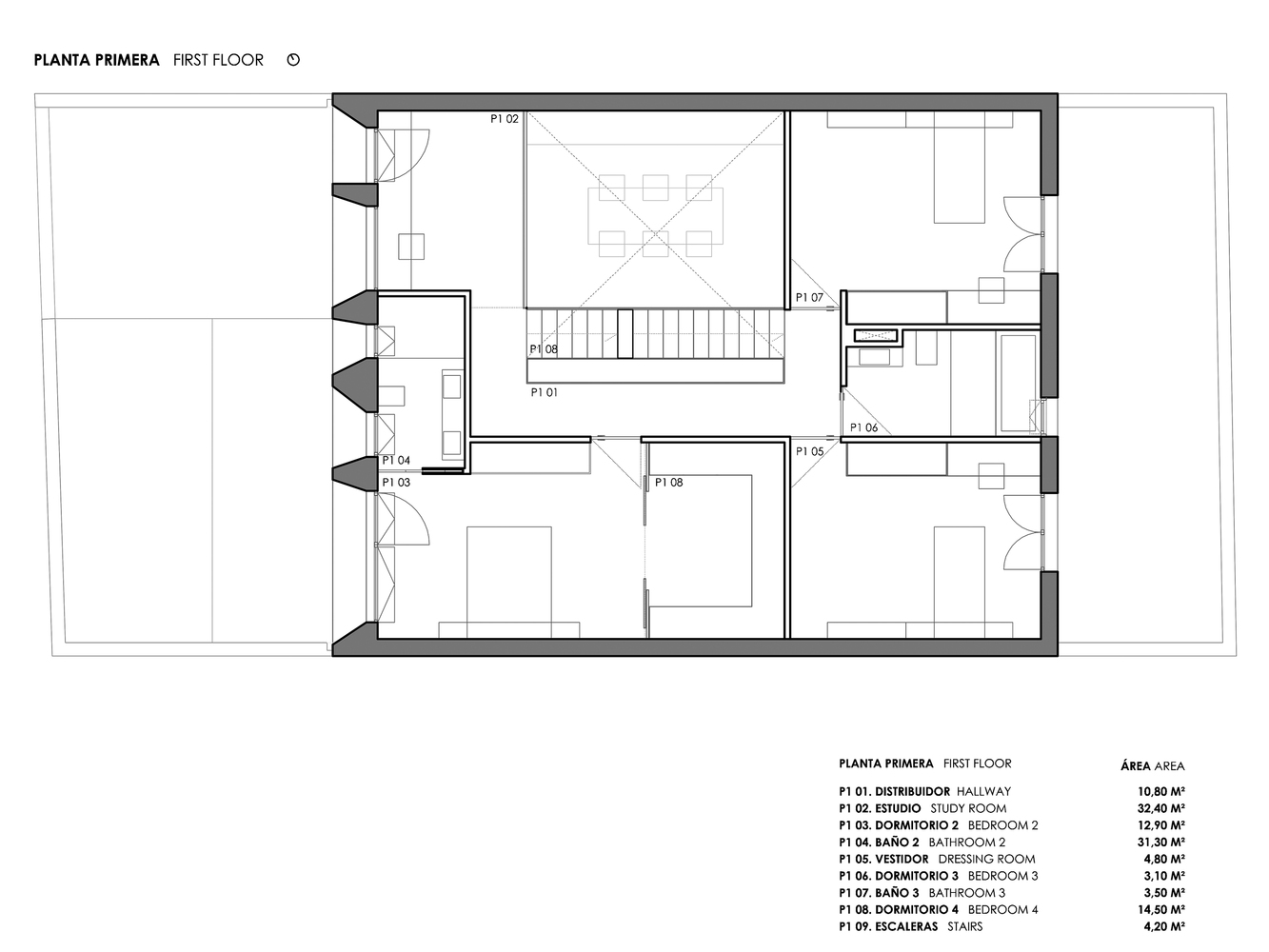 Mặt bằng biệt thự 300m2 - Brise Soleil House 5