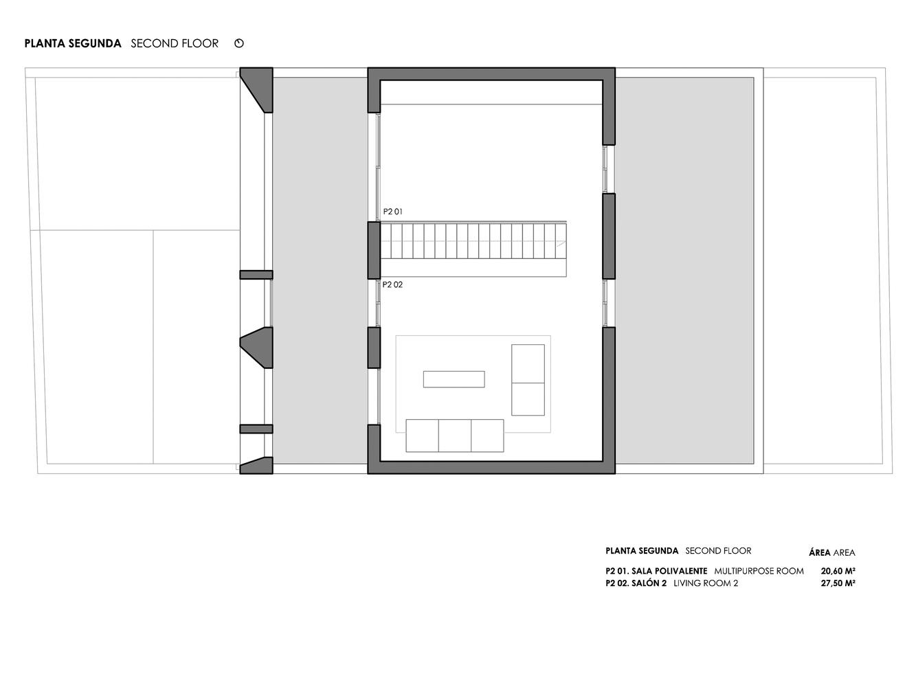 Mặt bằng biệt thự 300m2 - Brise Soleil House 4