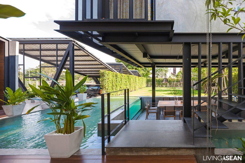 Nhà đẹp nước ngoài  - Steel House 13