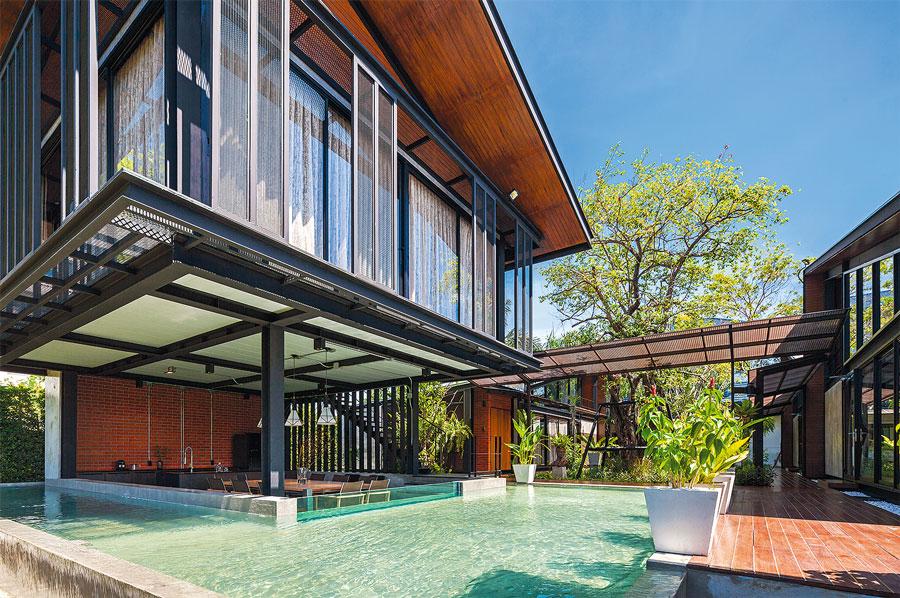 Nhà đẹp nước ngoài  - Steel House 2