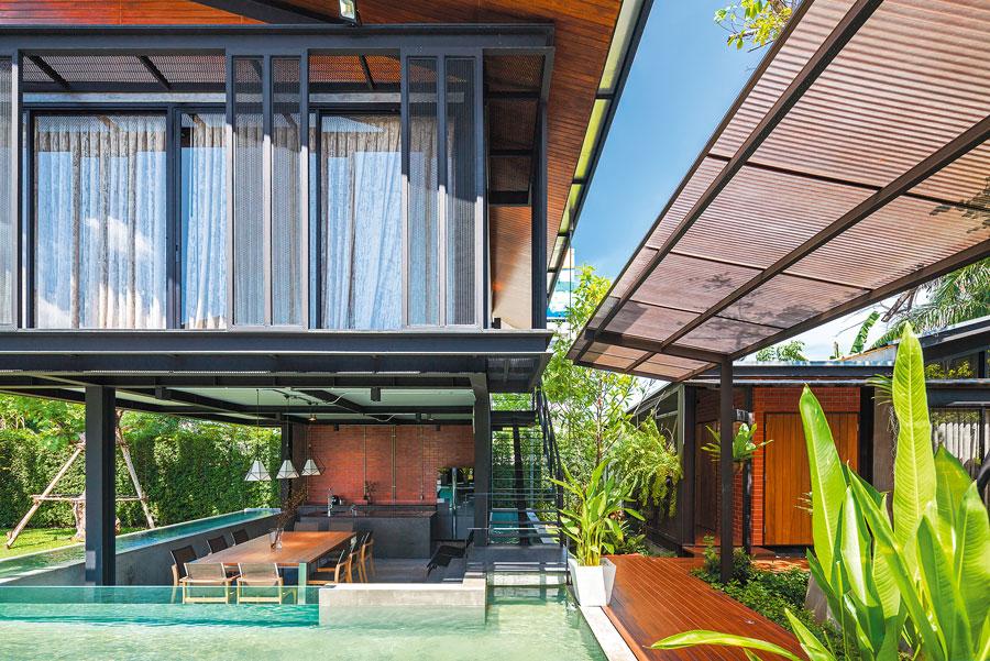 Nhà đẹp nước ngoài  - Steel House 3
