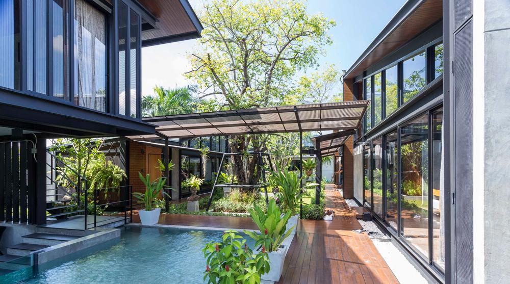 Nhà đẹp nước ngoài  - Steel House 6