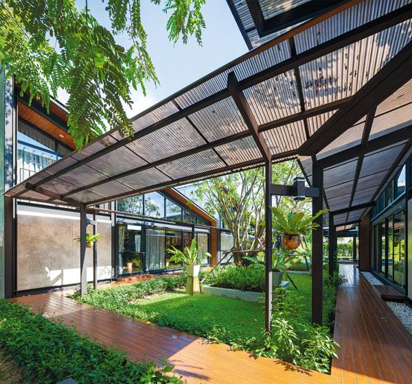 Nhà đẹp nước ngoài  - Steel House 7