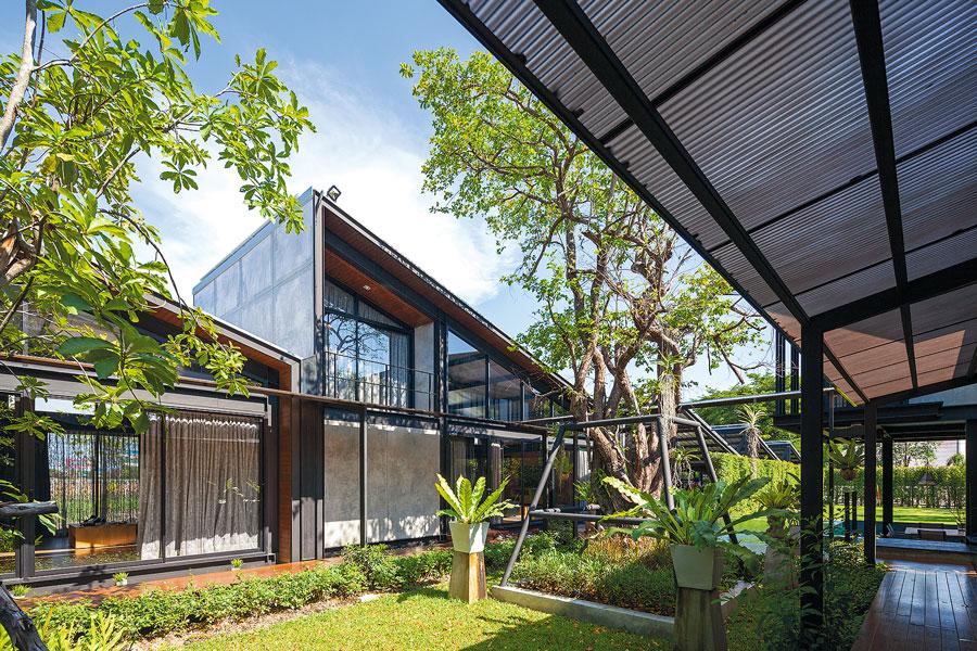 Nhà đẹp nước ngoài  - Steel House 9