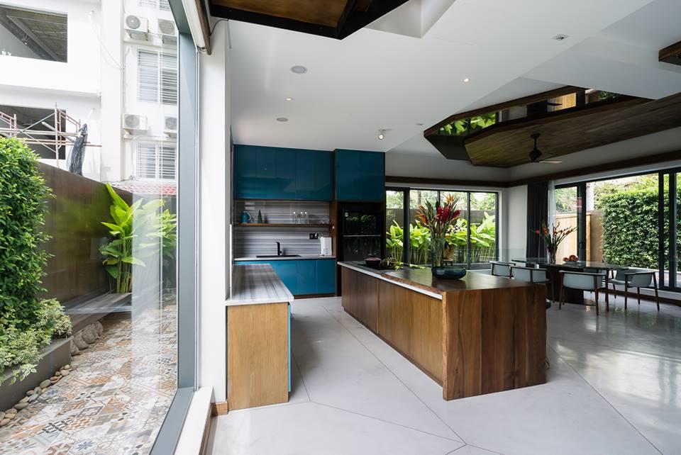 Nhà đẹp Sài Gòn - biệt thư đẹp Phú Mỹ Hưng 17