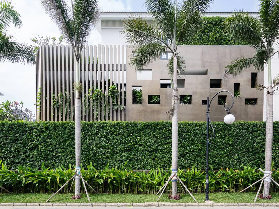 Nhà đẹp Sài Gòn - biệt thư đẹp Phú Mỹ Hưng 2
