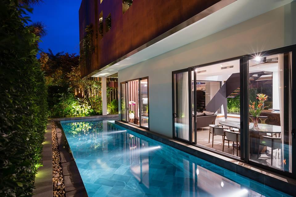 Nhà đẹp Sài Gòn - biệt thư đẹp Phú Mỹ Hưng 6