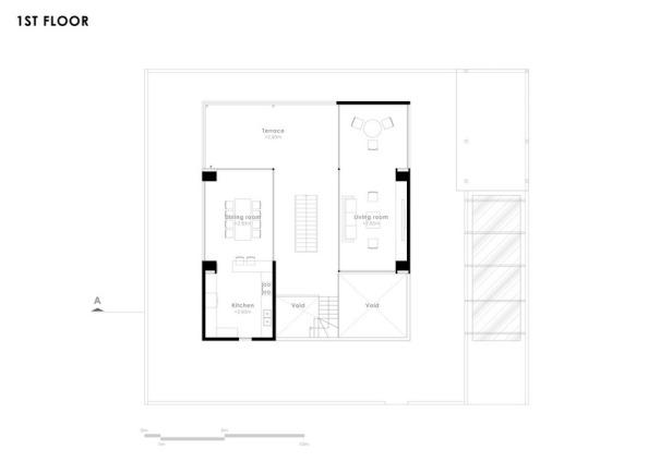 Mat bang tang 1 - Floating House