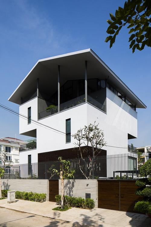 Nha dep Sai Gon - Floating House 1