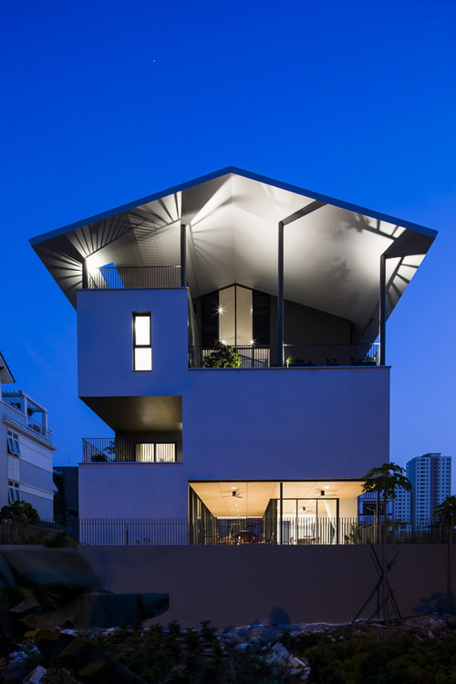 Nha dep Sai Gon - Floating House 7