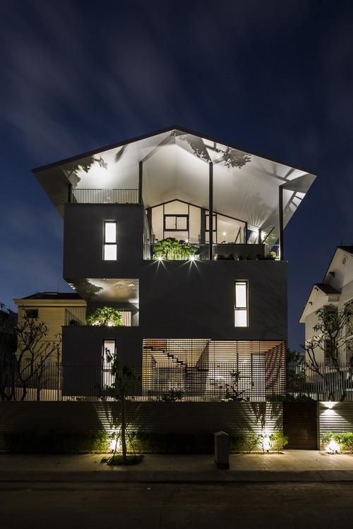 Nha dep Sai Gon - Floating House 8
