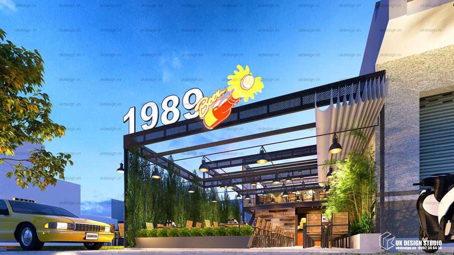 thiết kế nhà hàng sân vườn - 1989 - 2