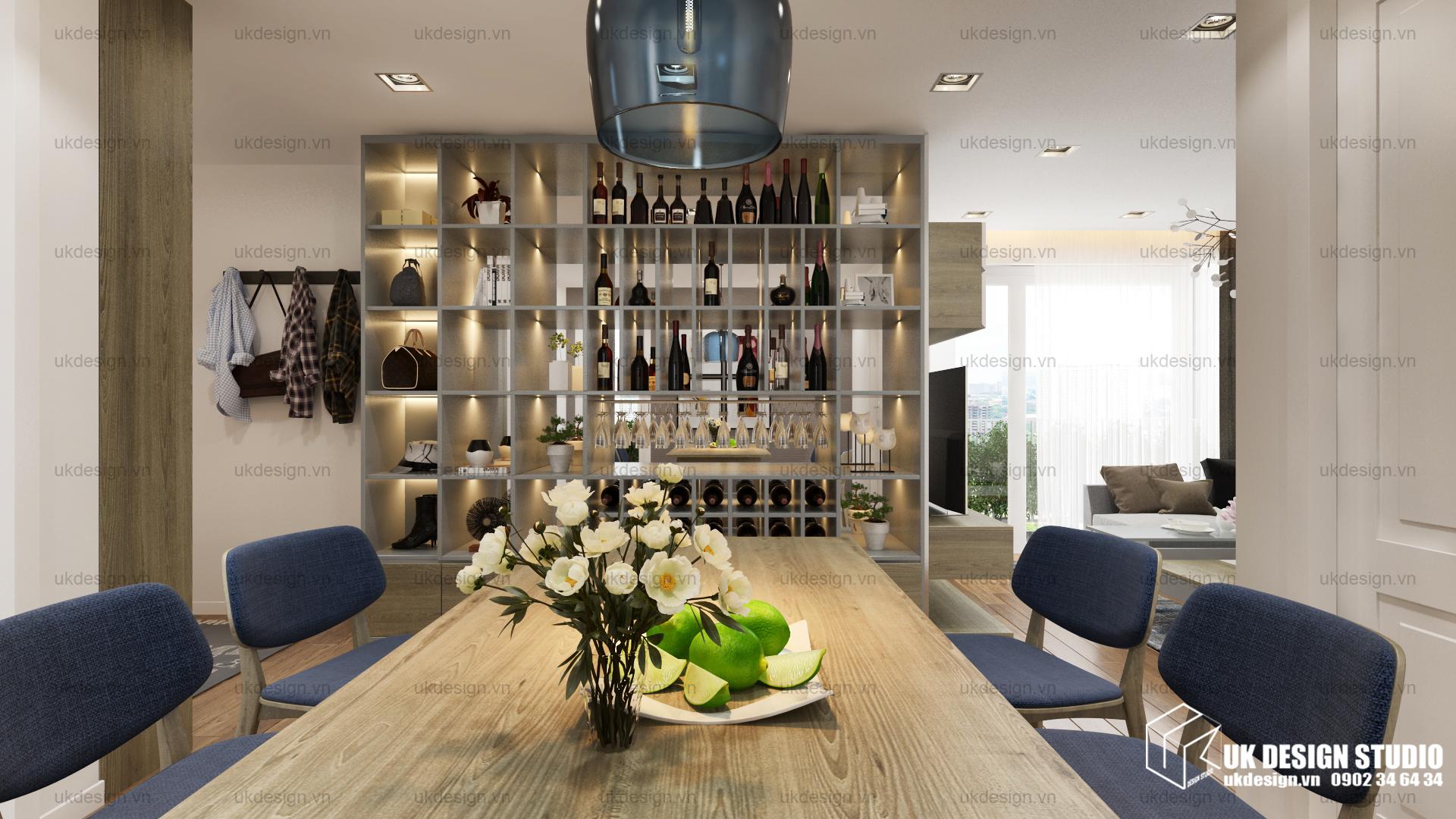 Thiết kế nội thất căn hộ chung cư 4
