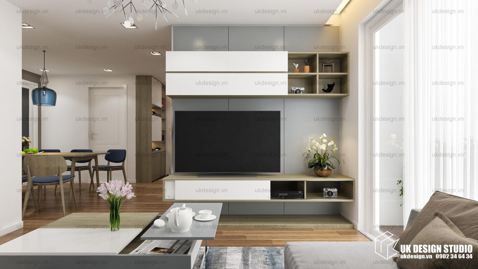 Thiết kế nội thất căn hộ chung cư 2