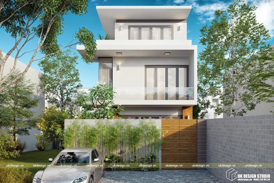 Biệt thự hiện đại 3 tầng 1
