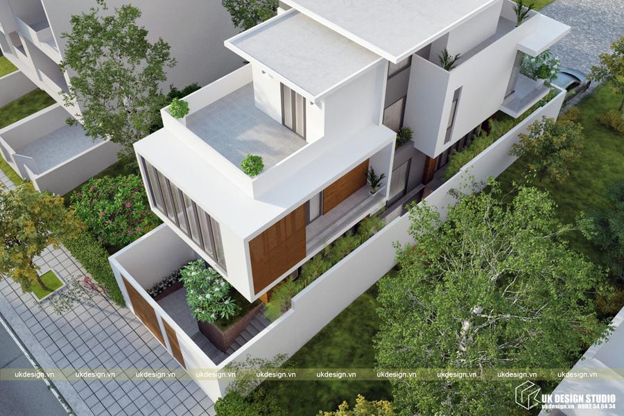 Biệt thự hiện đại 3 tầng 3