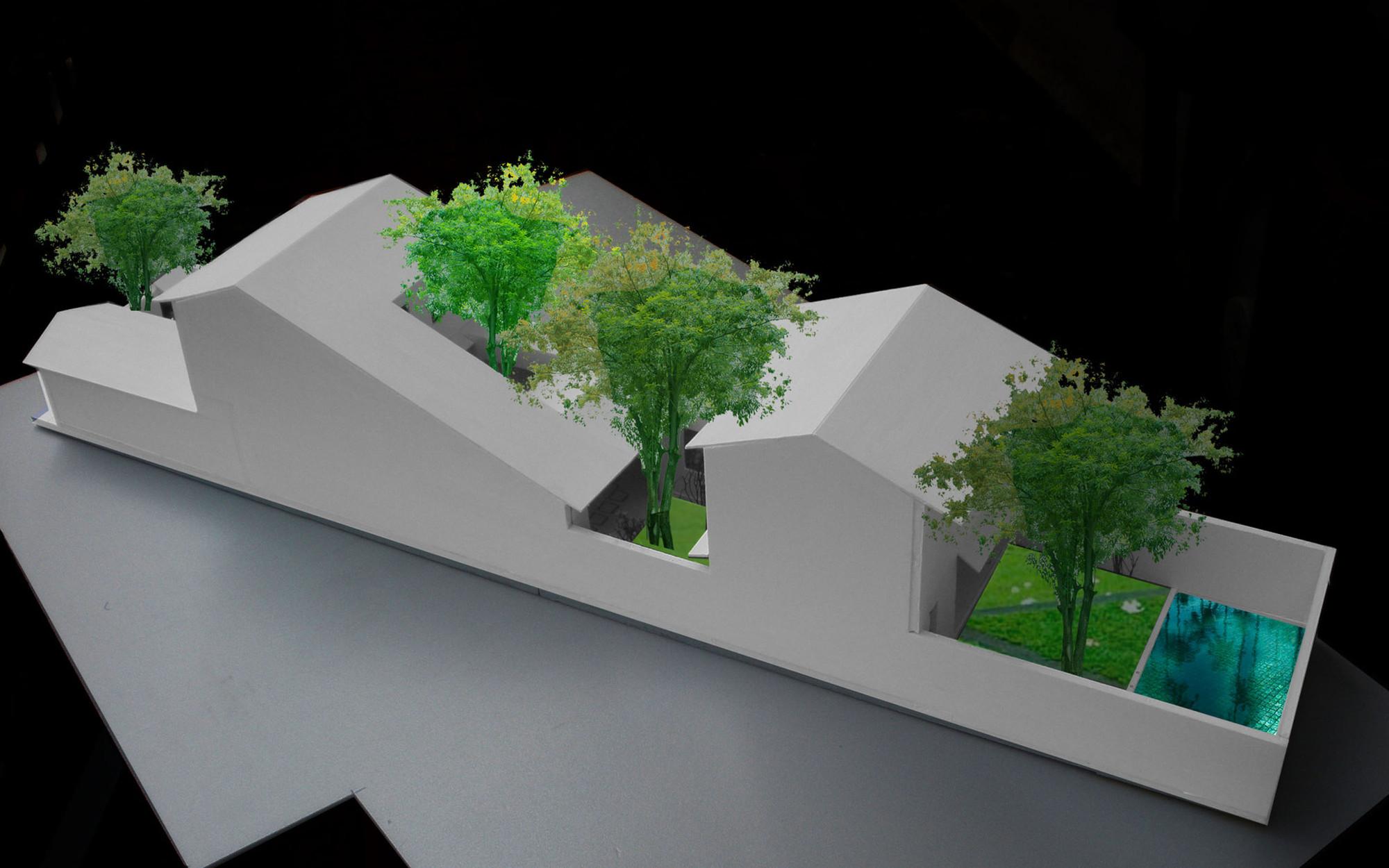 Mặt bằng - Modern Tube House - 9