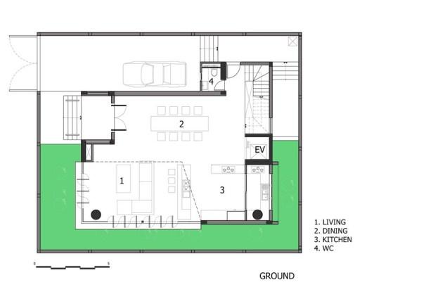 Mặt bằng 15x18m - NQ House - 2