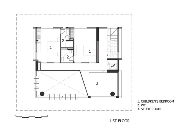 Mặt bằng 15x18m - NQ House - 3
