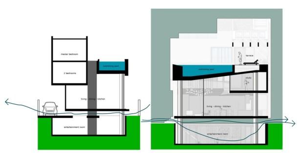Mặt bằng 15x18m - NQ House - 8