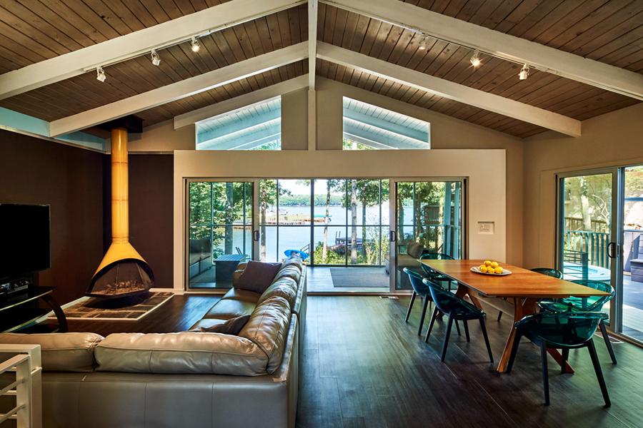 Nhà đẹp nước ngoài - Lake House-7