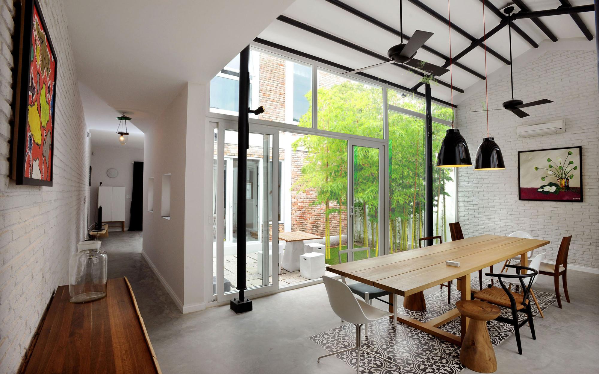 Nhadepvietnam ModernTubeHouse  - Modern Tube House - Nhà ống hiện đại với nhiều khoảng xanh phá cách