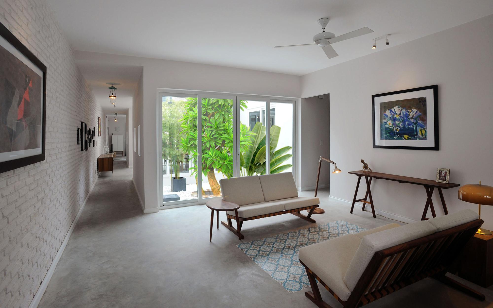 Nhadepvietnam ModernTubeHouse 3 - Modern Tube House - Nhà ống hiện đại với nhiều khoảng xanh phá cách