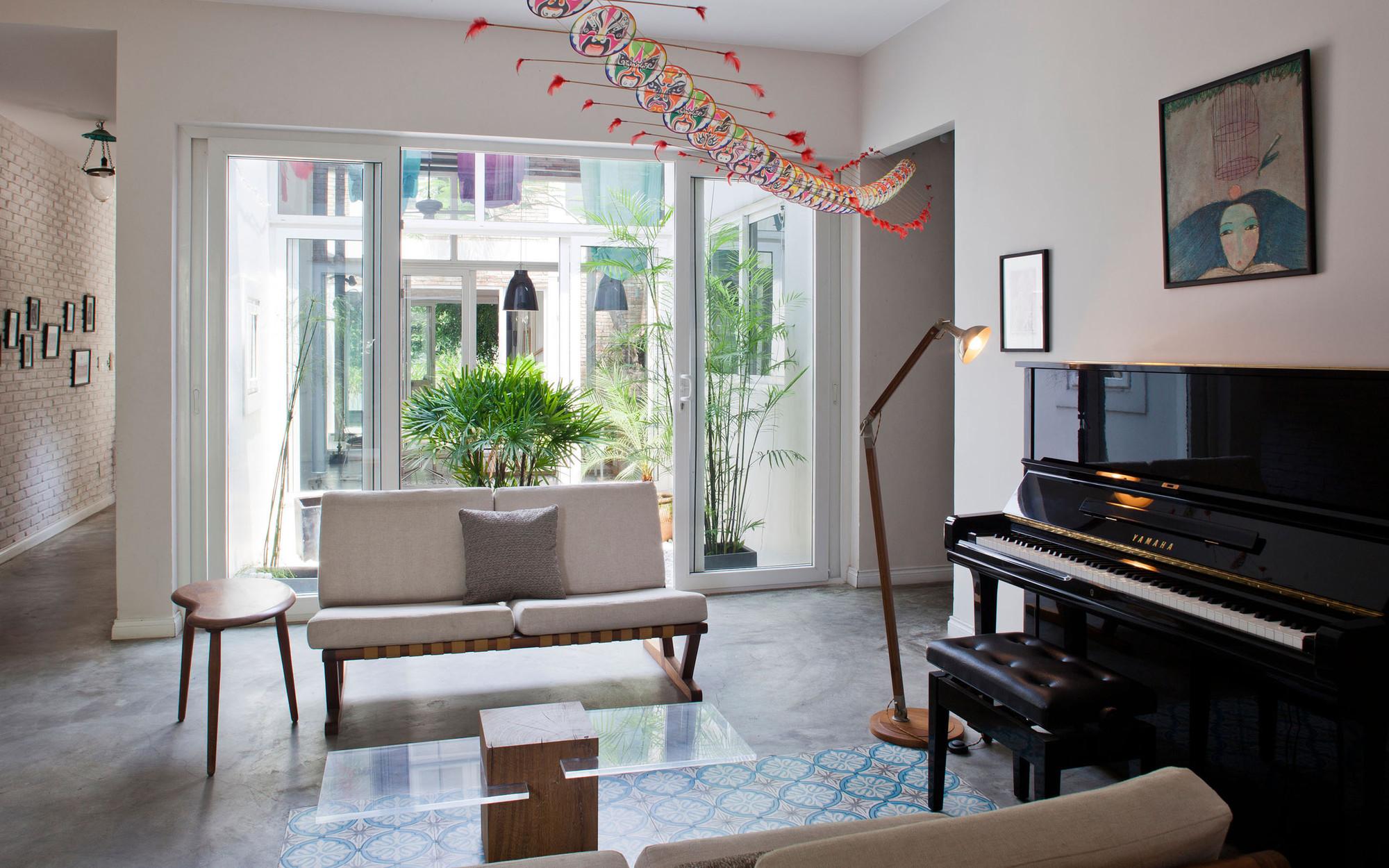 Nhadepvietnam ModernTubeHouse 4 - Modern Tube House - Nhà ống hiện đại với nhiều khoảng xanh phá cách