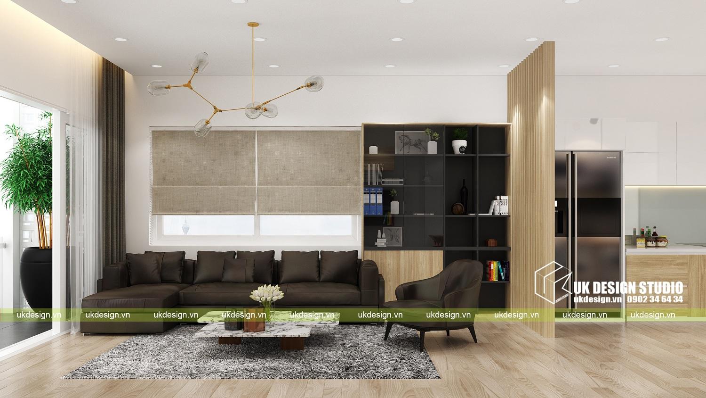 Thiết kế nội thất nhà phố hiện đại kết hợp văn phòng kinh doanh - 3