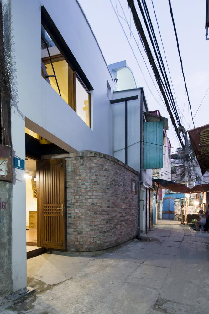 Nhadepvietnam innovation house 1 - Innovation House - Ngôi nhà có không gian chức năng được biến đổi liên tục