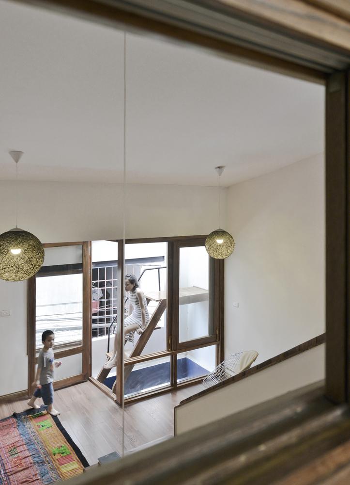 Nhadepvietnam innovation house 13 - Innovation House - Ngôi nhà có không gian chức năng được biến đổi liên tục
