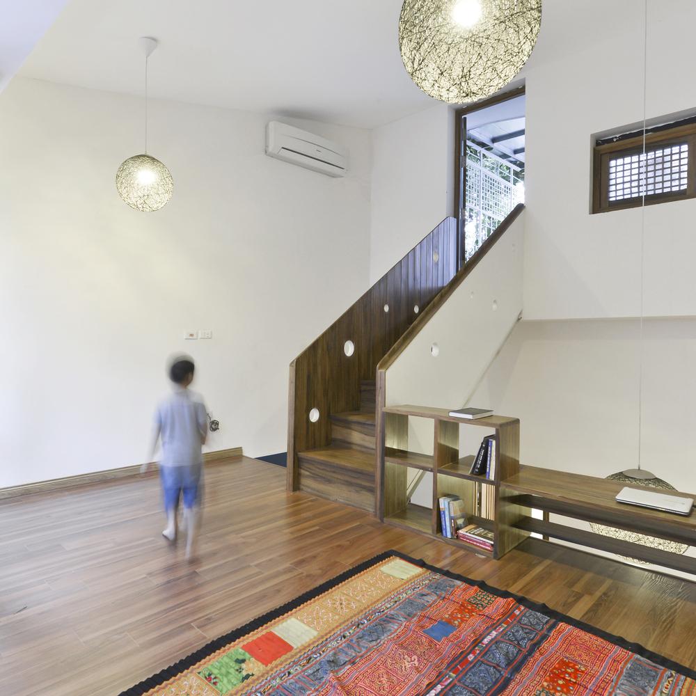 Nhadepvietnam innovation house 9 - Innovation House - Ngôi nhà có không gian chức năng được biến đổi liên tục