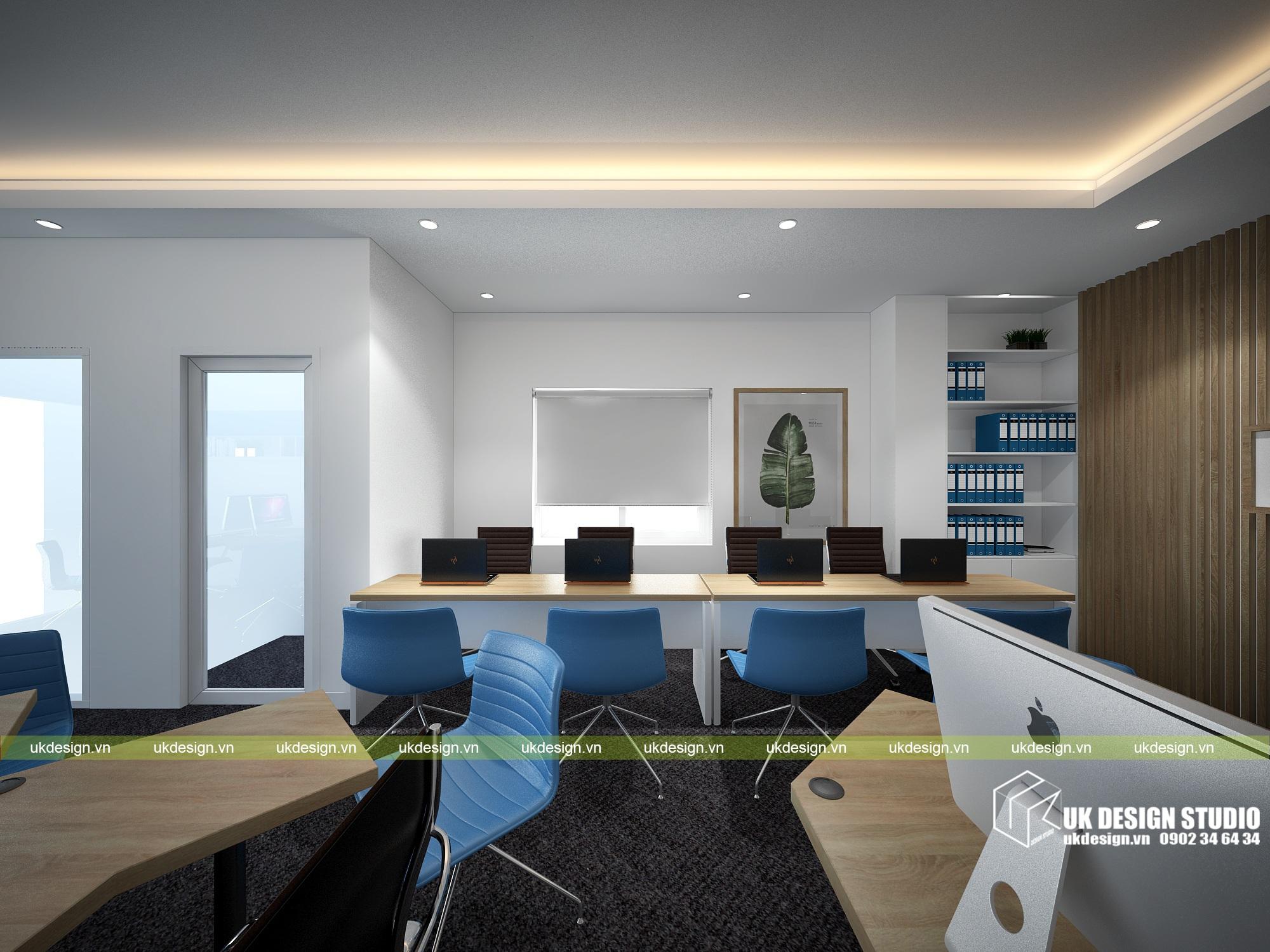 Thiết kế nội thất nhà phố hiện đại kết hợp văn phòng kinh doanh - 17