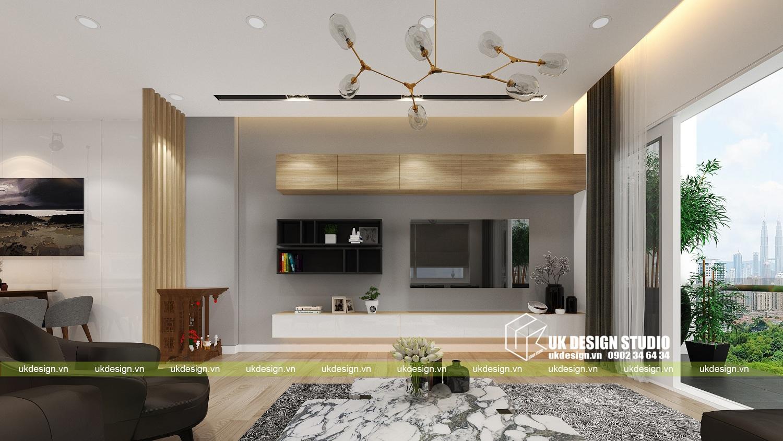 Thiết kế nội thất nhà phố hiện đại kết hợp văn phòng kinh doanh - 2