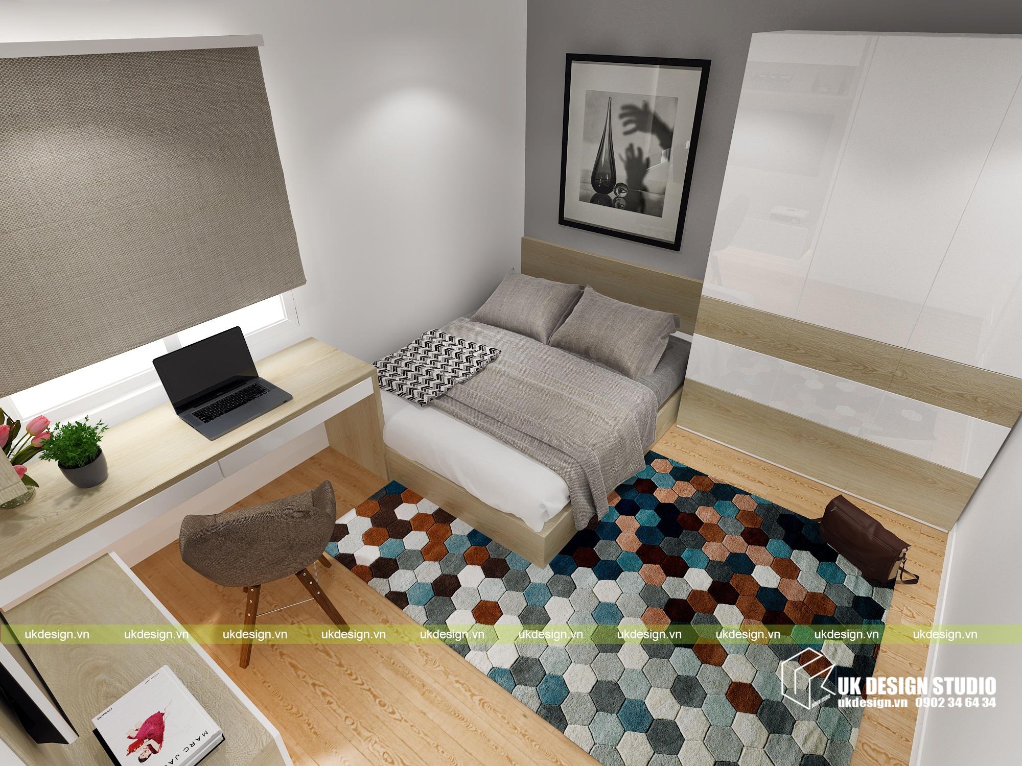 Thiết kế nội thất nhà phố hiện đại kết hợp văn phòng kinh doanh - 9