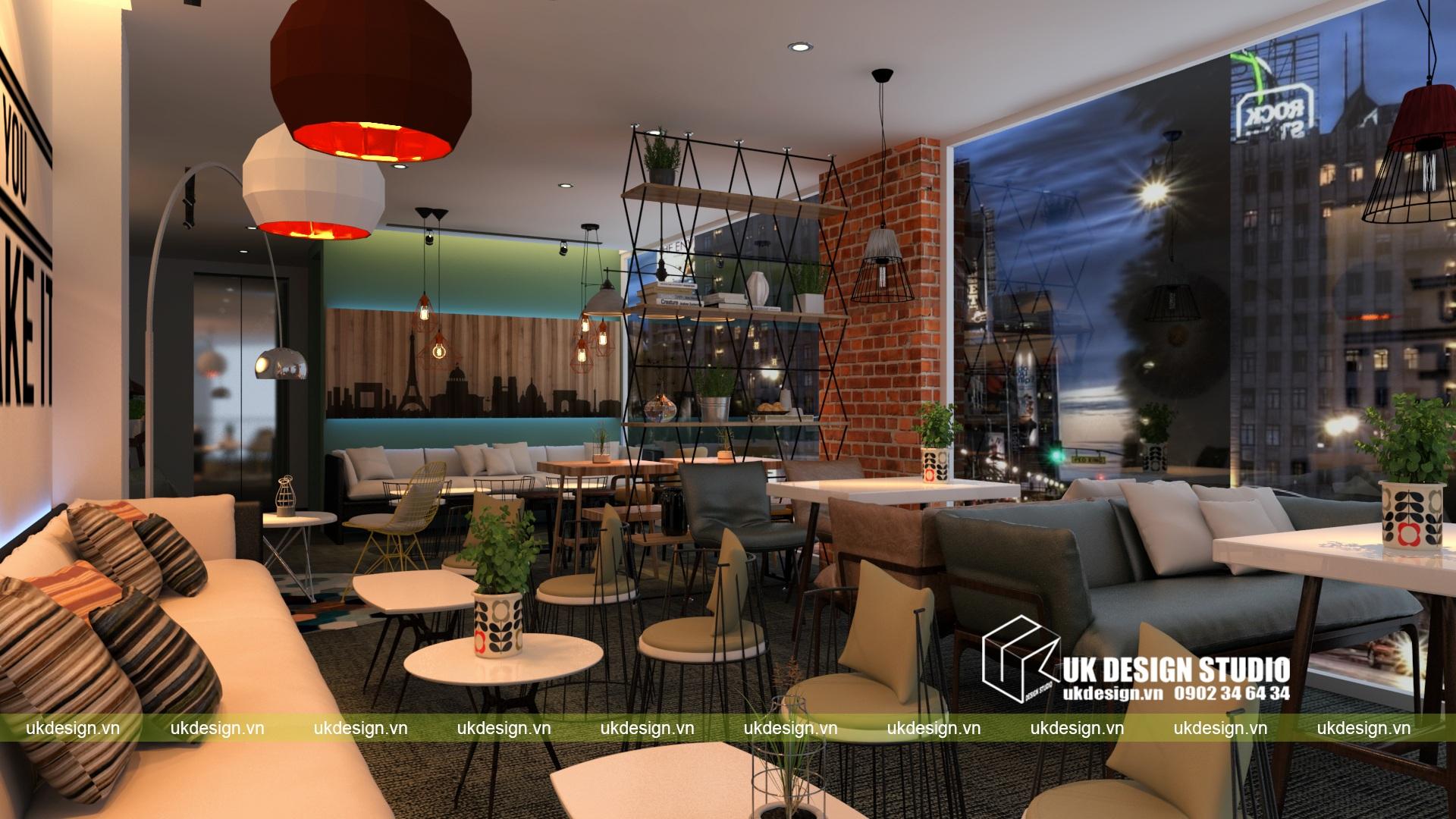 Thiết kế quán cafe và trà sữa No Name - d