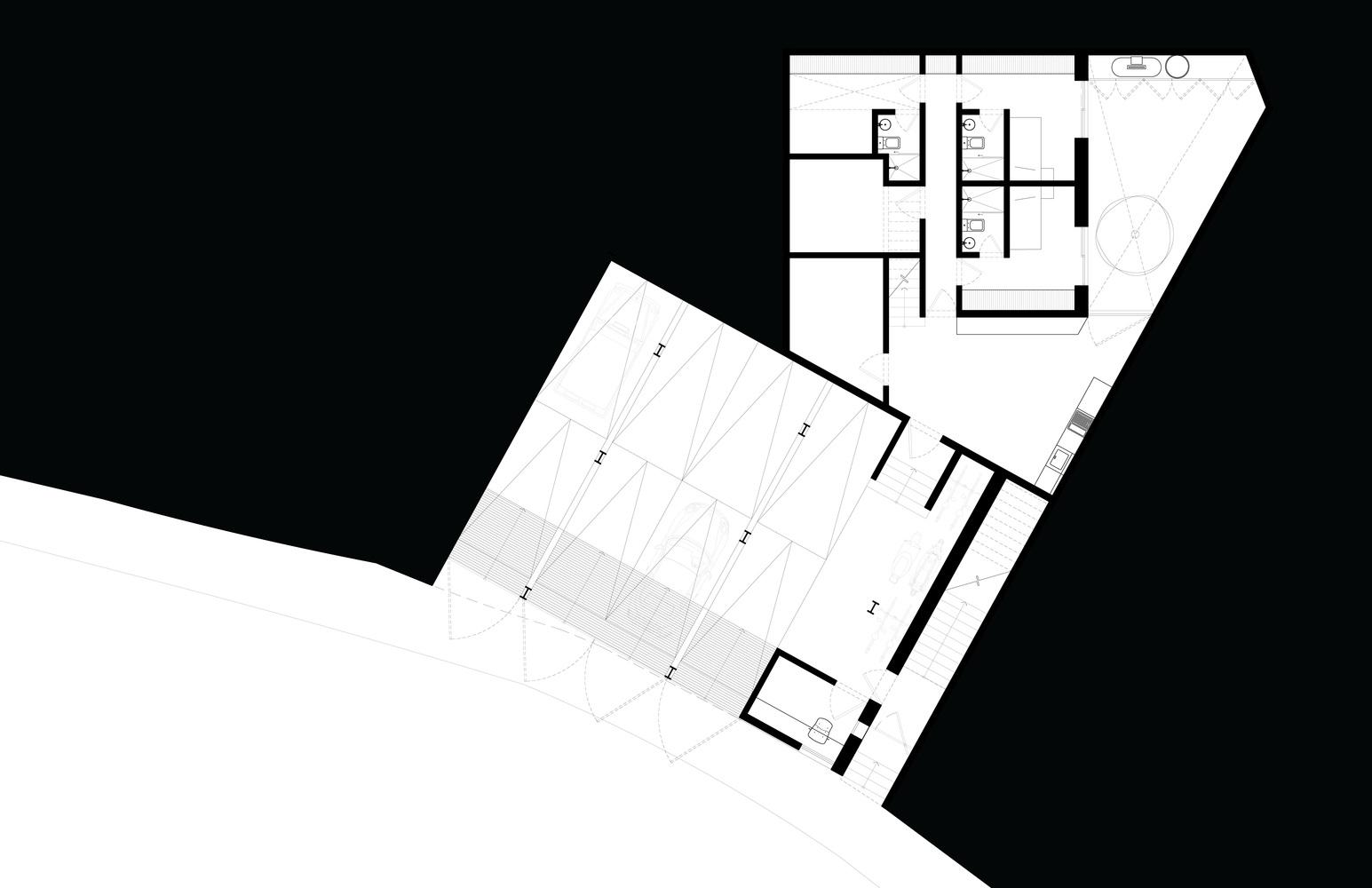 Mặt bằng biệt thự 900m2- s house - 2