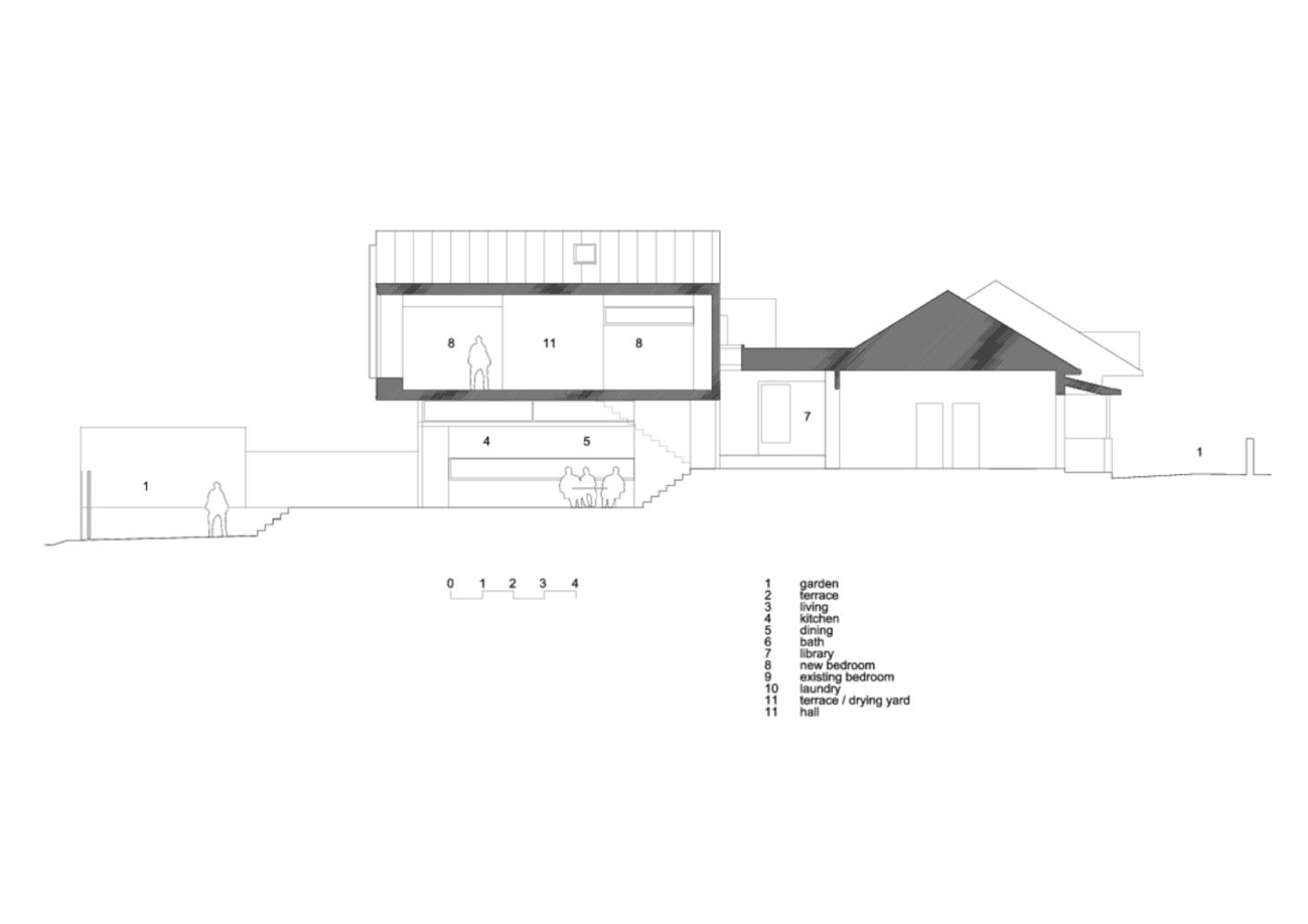 Mặt bằng nhà phố - dolls house - 3