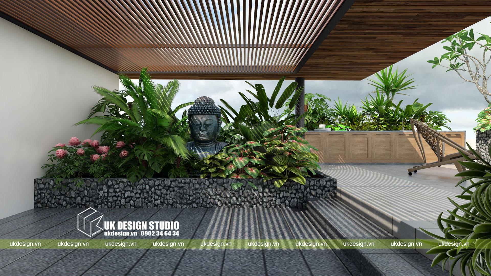 Thiết kế biệt thự vườn có hồ bơi ở Sài Gòn - 14