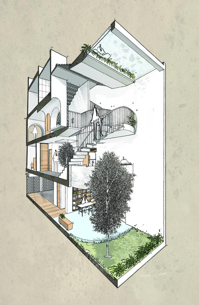 Nhà đẹp Sài Gòn - Backyard House