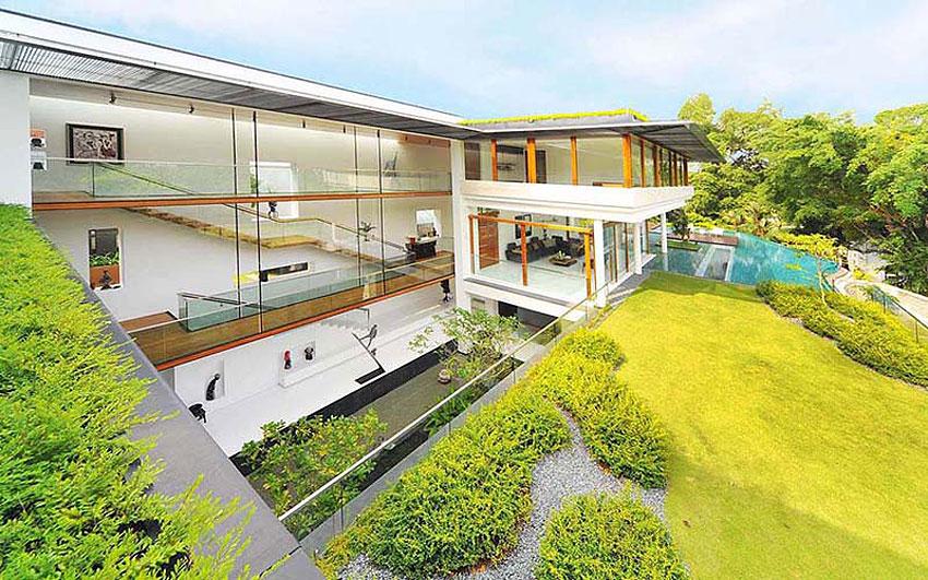 Nhà đẹp nước ngoài - Dalvey Road House - 02
