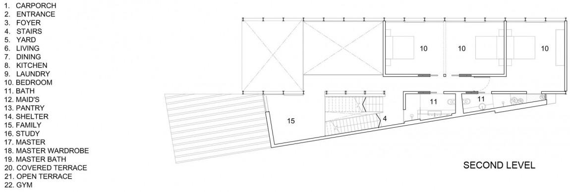 Bố trí mặt bằng - Lines of Light tầng 2